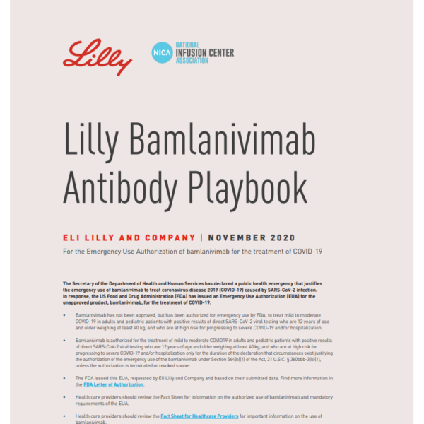 Eli Lilly Playbook