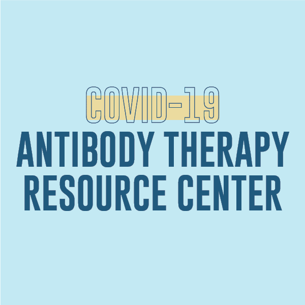 COVID-19 Antibody Therapy Resource Center page